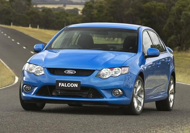 Ford Falcon Blue